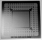 трафарет прямого нагрева GK104-325-A2